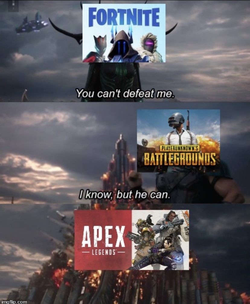 How True Is This Apex Vs Fortnite Meme Unrelated