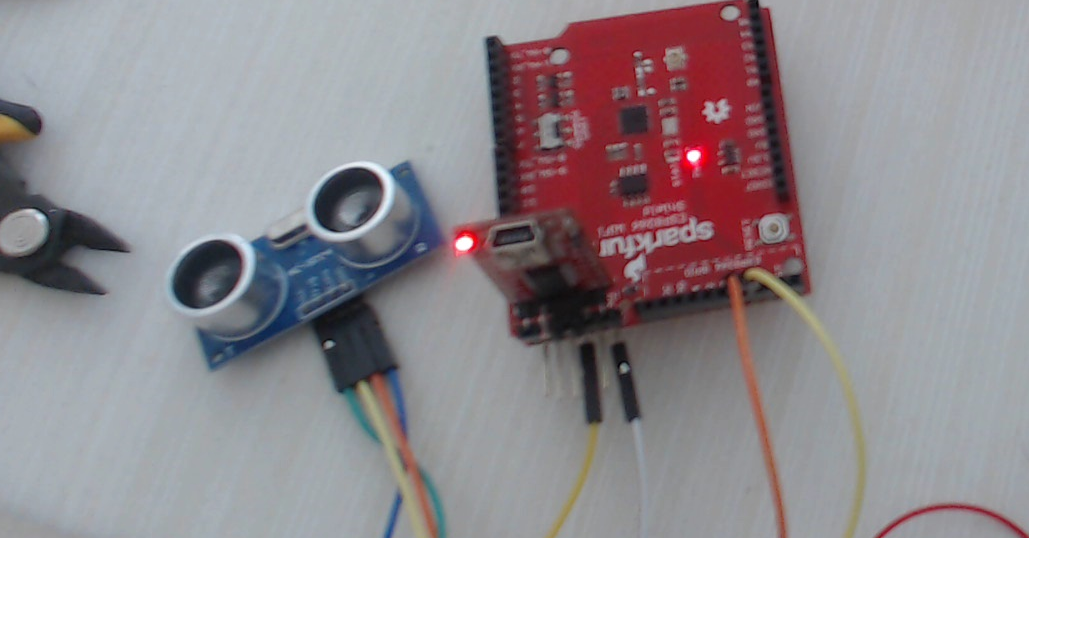 Connecting Ultrasonic Sensor Using ESP8266 - Projects Made