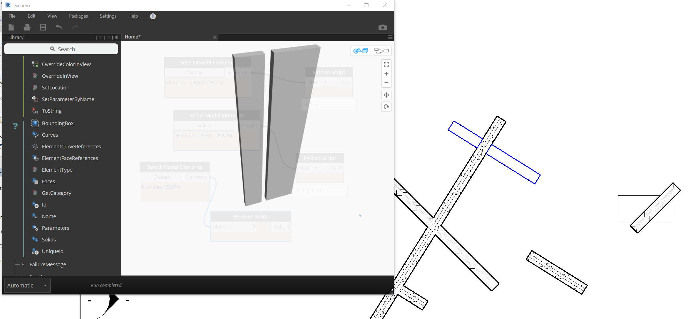 Wall Solid Intersection with Revit API - Developers - Dynamo