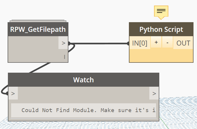 Debugging Python Code - Developers - Dynamo