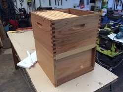 Modifying a Flow Super to suit UK National hives