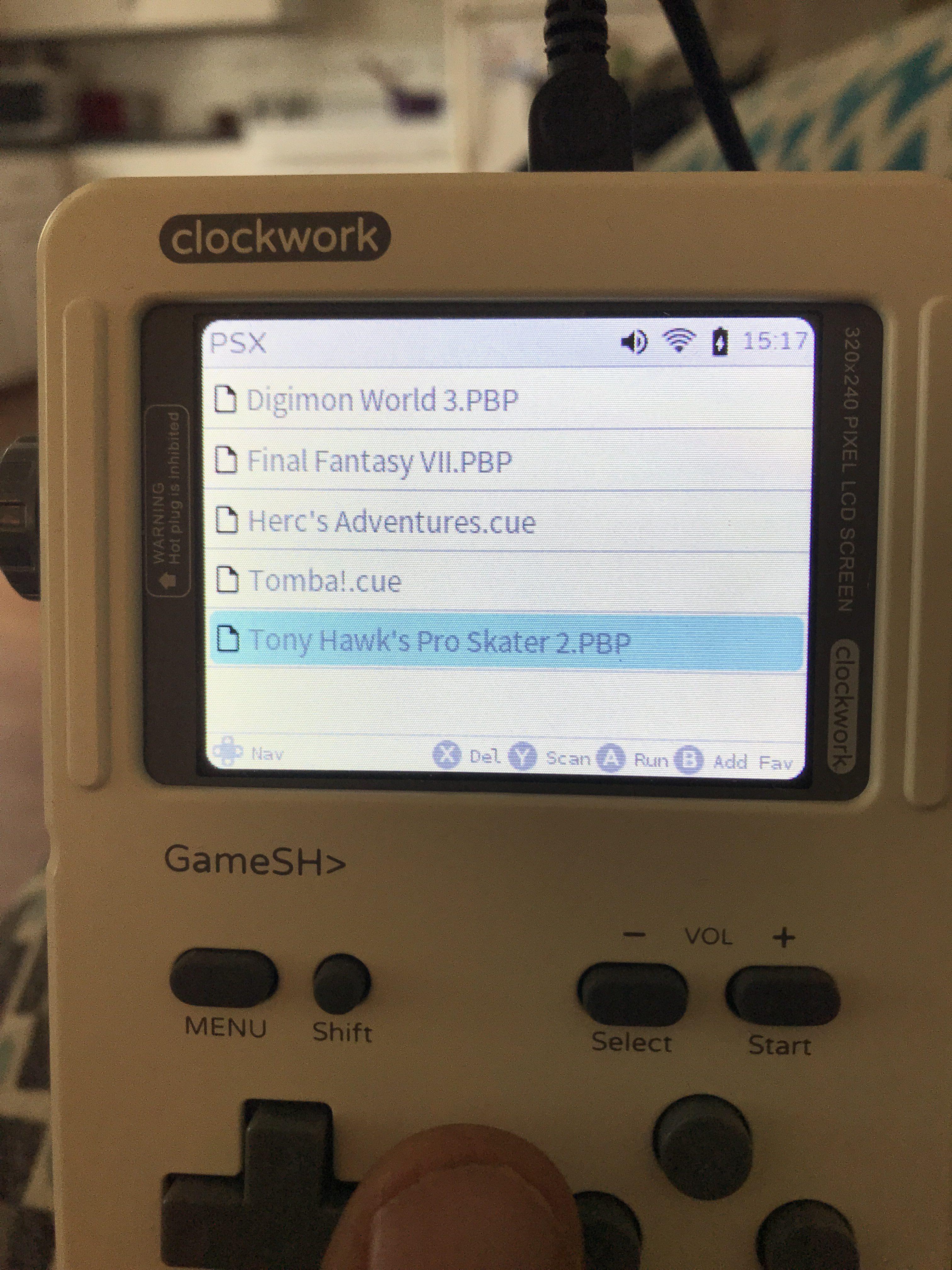 PCSX ReARMed for GameShell - Emulators - clockworkpi