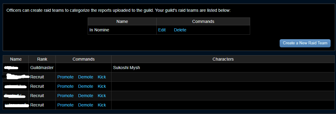 Showing Guild Tag on FFlogs - FF Logs - Warcraft Logs