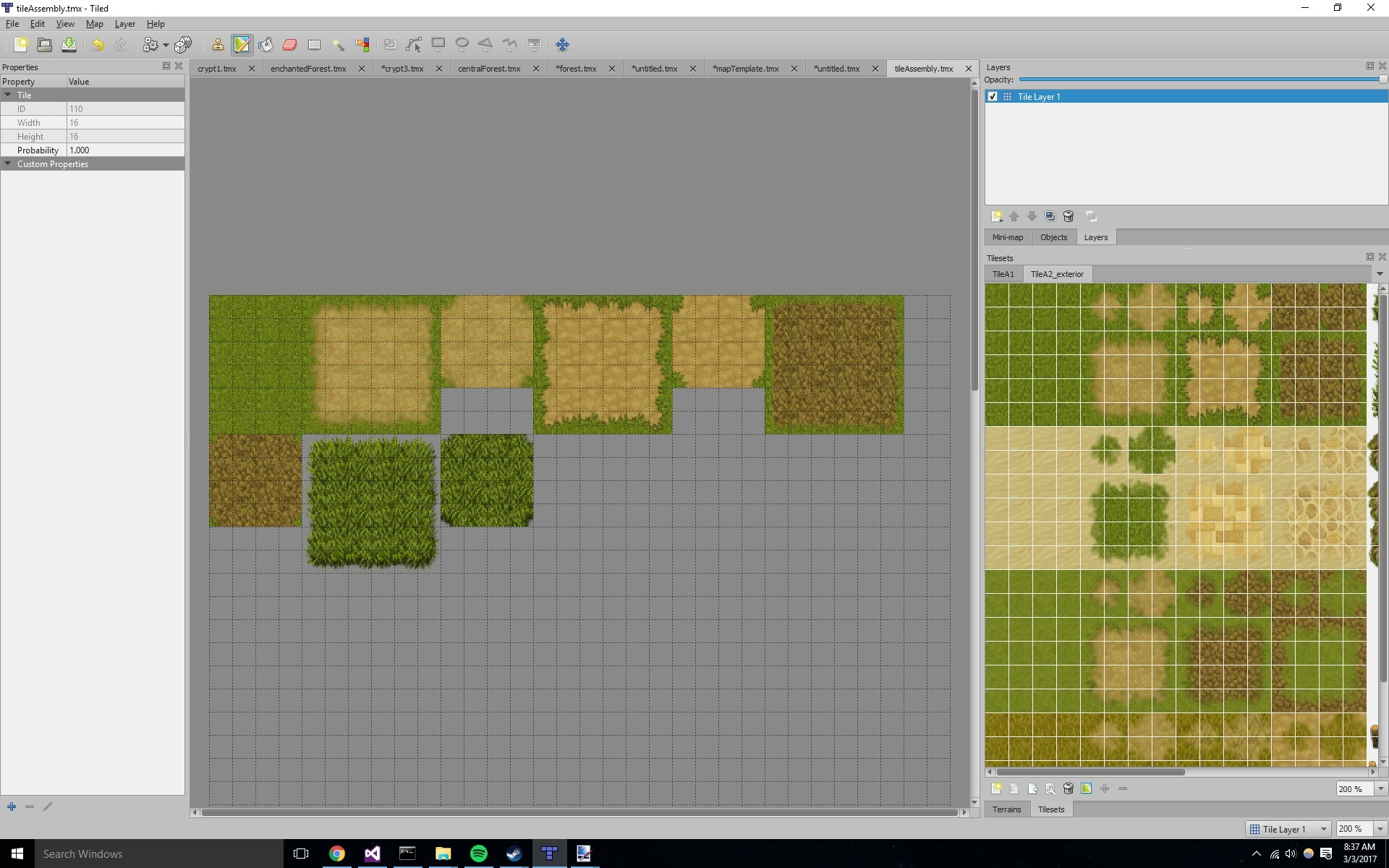 Autotile not working with RPG Maker TileSet - Question