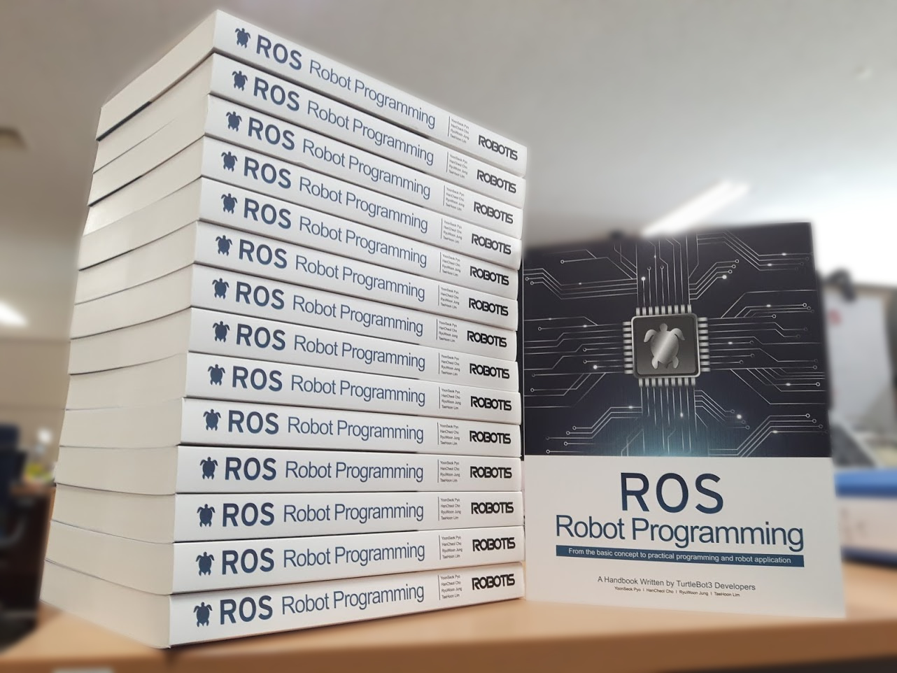Download the 'ROS Robot Programming' Book for Free! - Learn Robotics