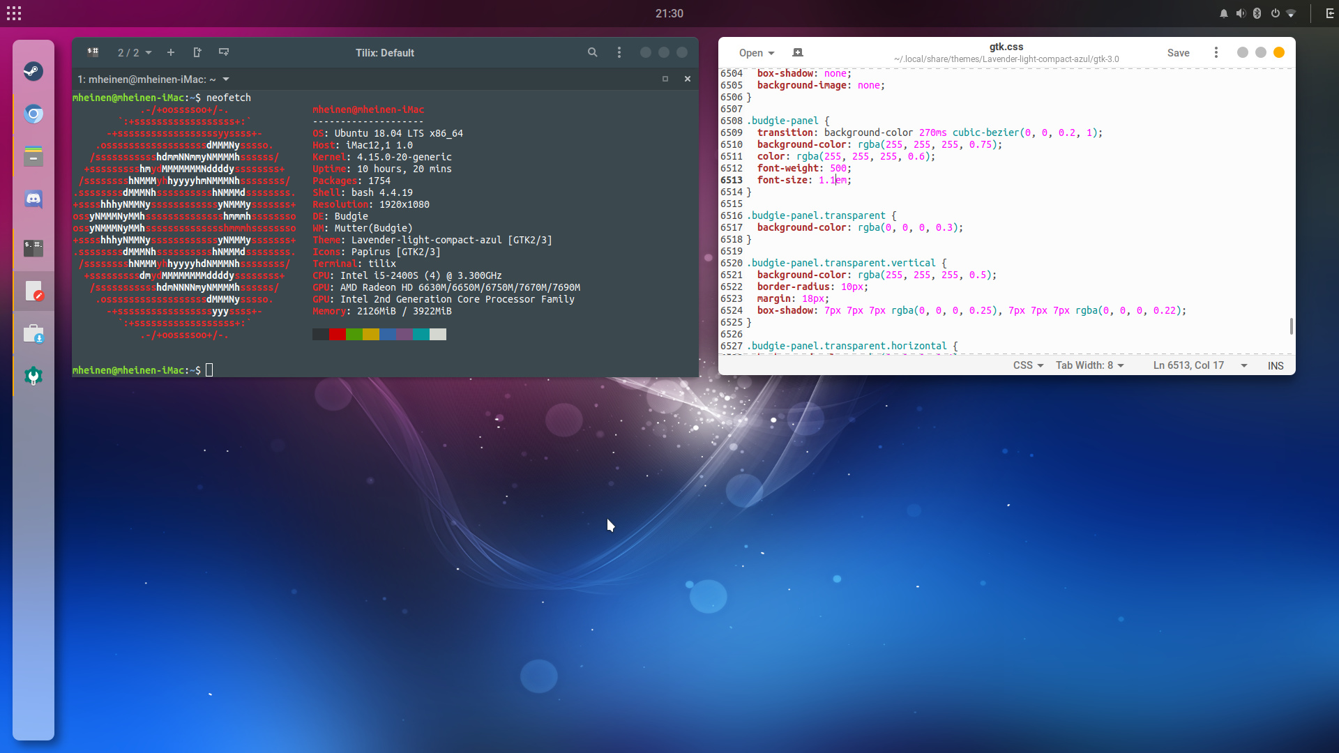 Show us your Budgie Desktop - Ubuntu Budgie