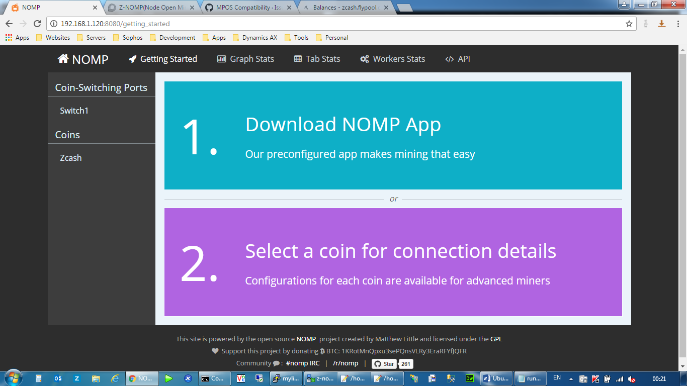 Z-NOMP(Node Open Mining Portal) (READY FOR TESTING) - Community